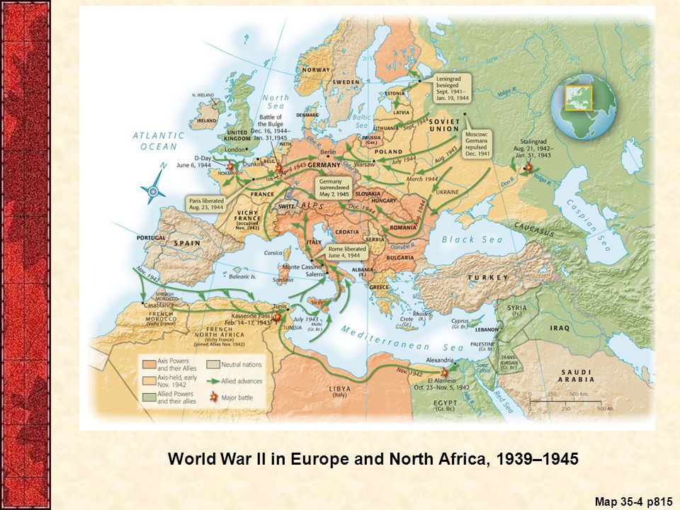America in world war ii 1941 ppt download 36 world war ii in europe and north africa gumiabroncs Choice Image