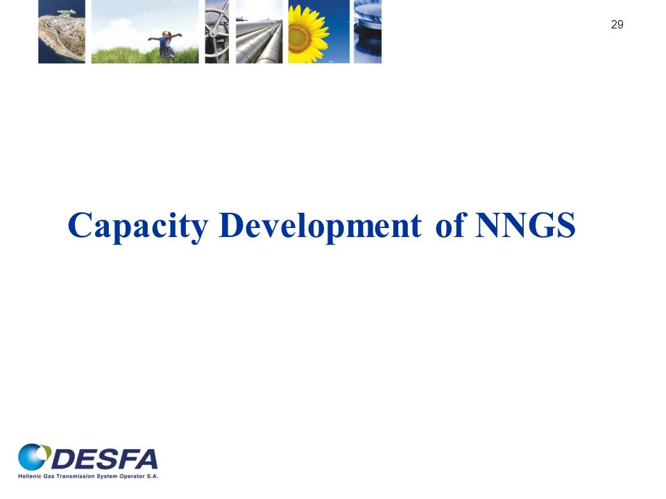 Capacity Development of NNGS