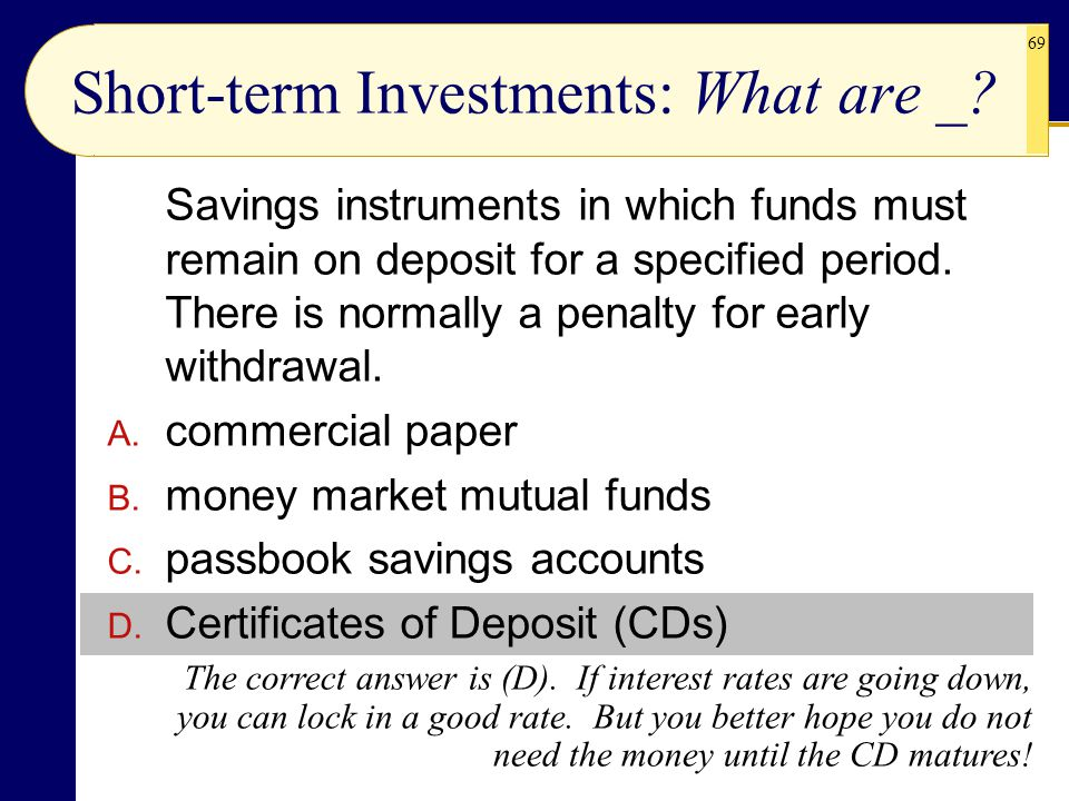 Introduction To Investments Ppt Download