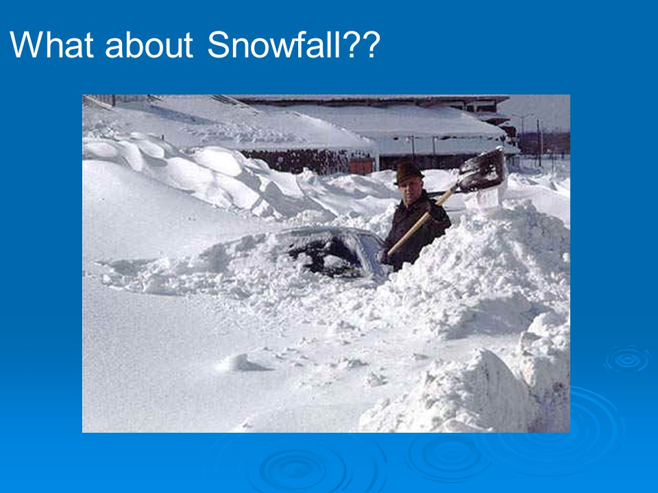 What about Snowfall