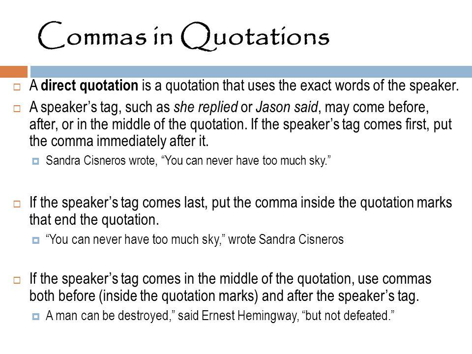 in quotations - Ins.ssrenterprises.co