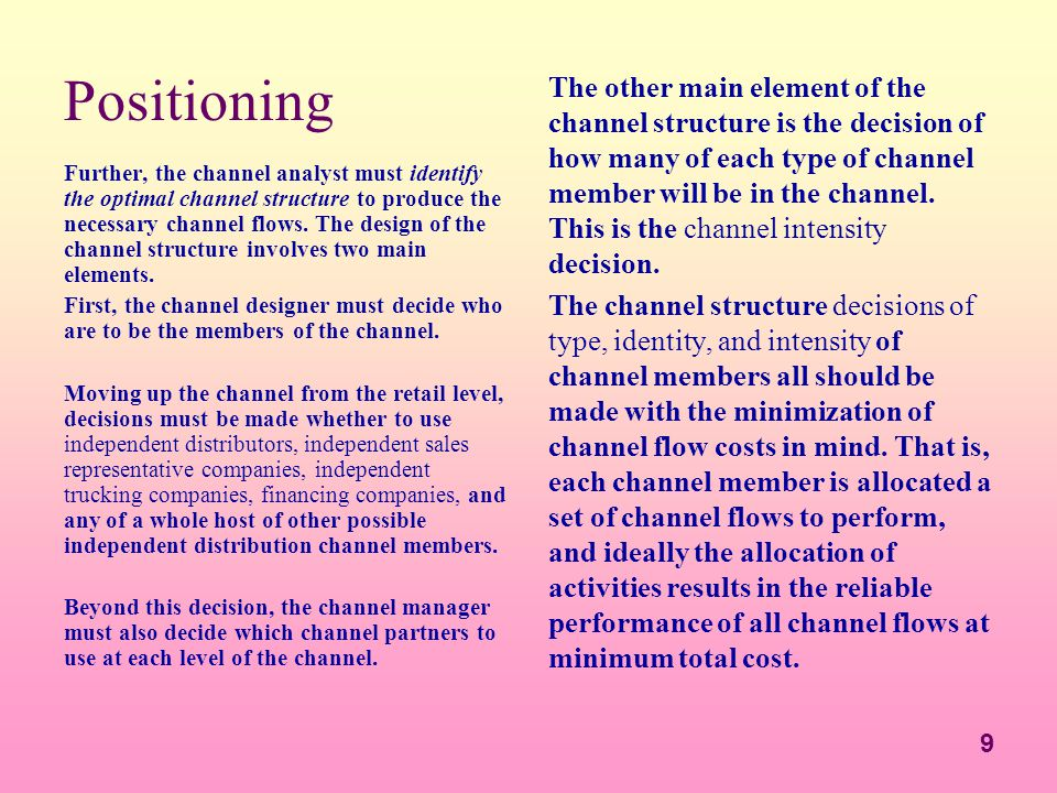 Success Strategies in Channel Management - ppt download