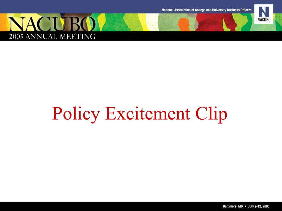 Policy Excitement Clip
