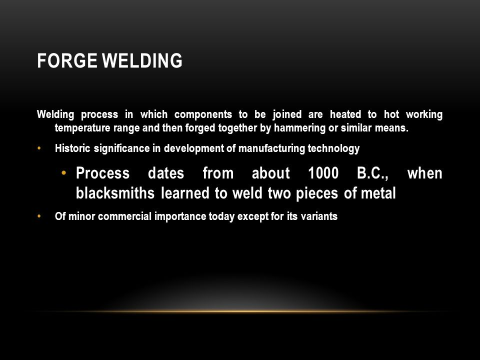 Solid State Welding Processes Ppt Video Online Download
