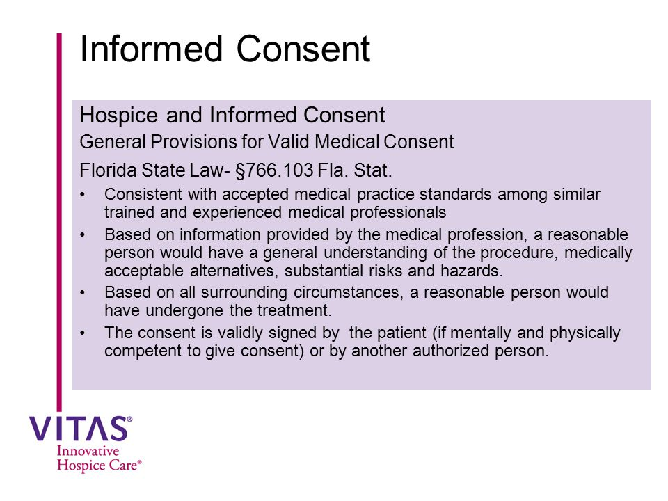 informed consent in florida