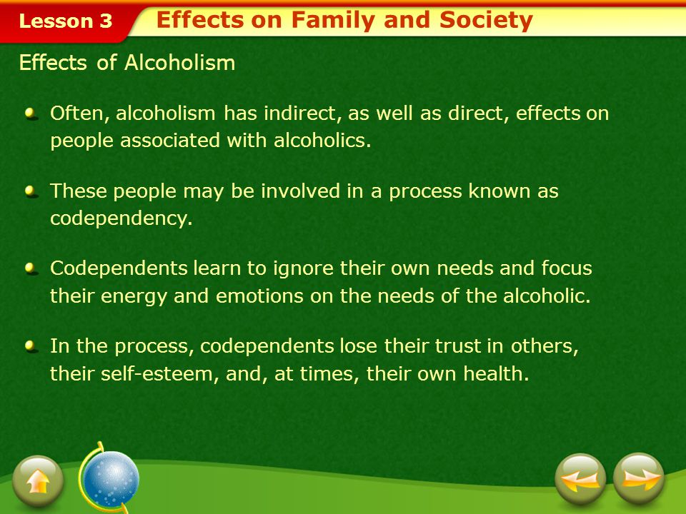 Effects on Family and Society
