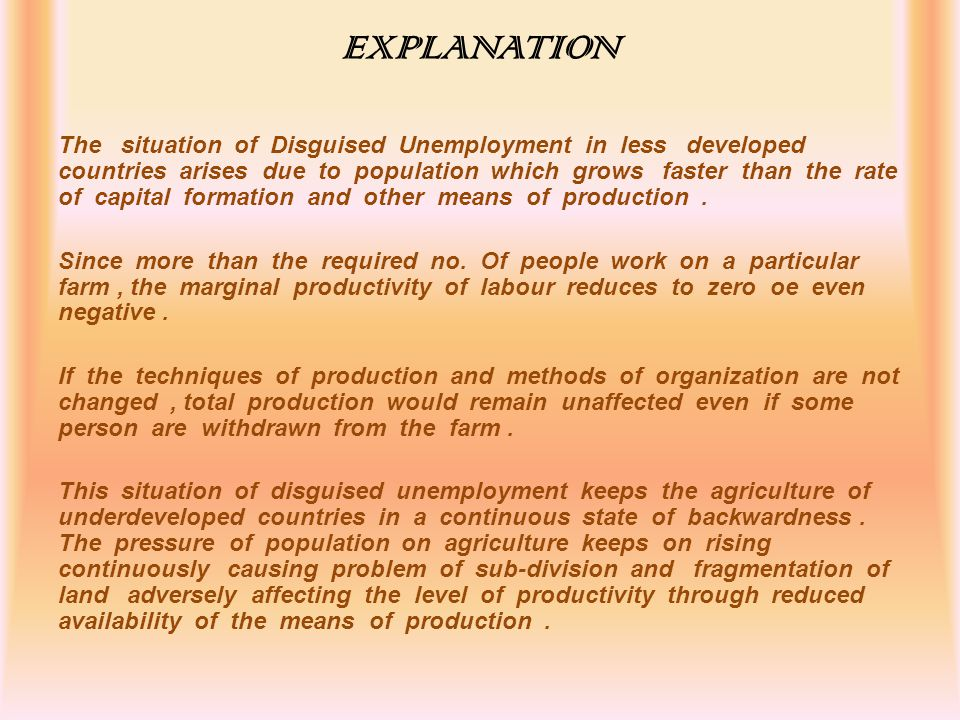 thesis about unemployment