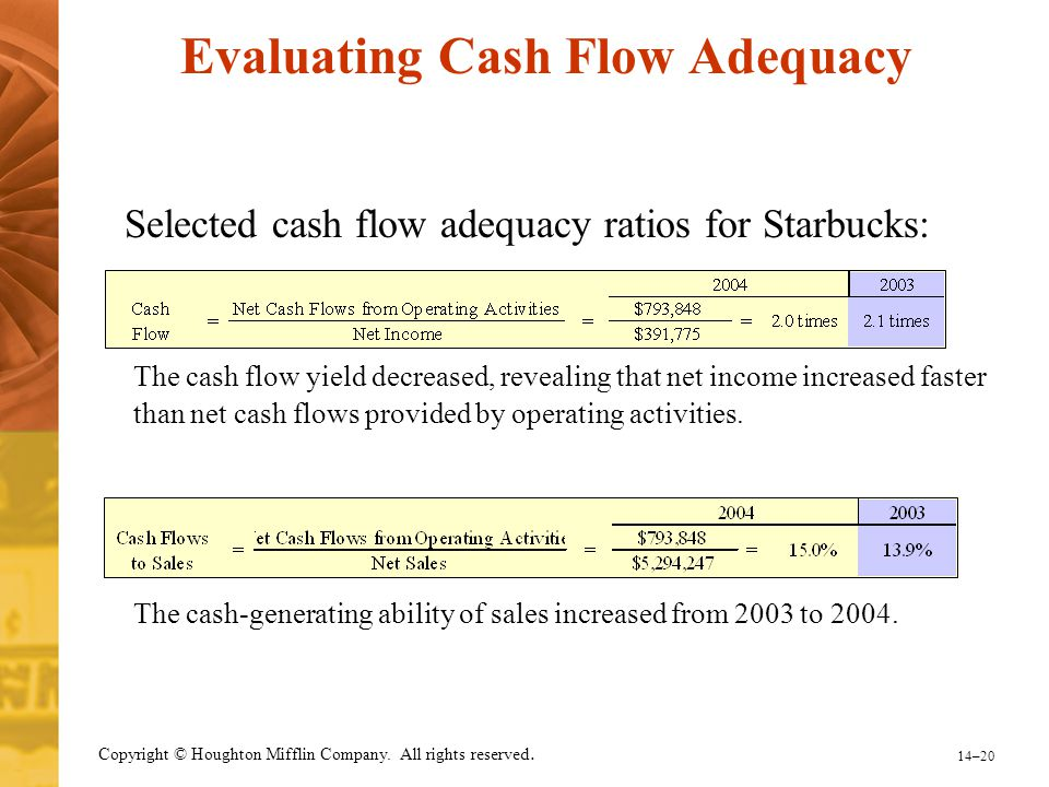 Evaluating Cash Flow Adequacy