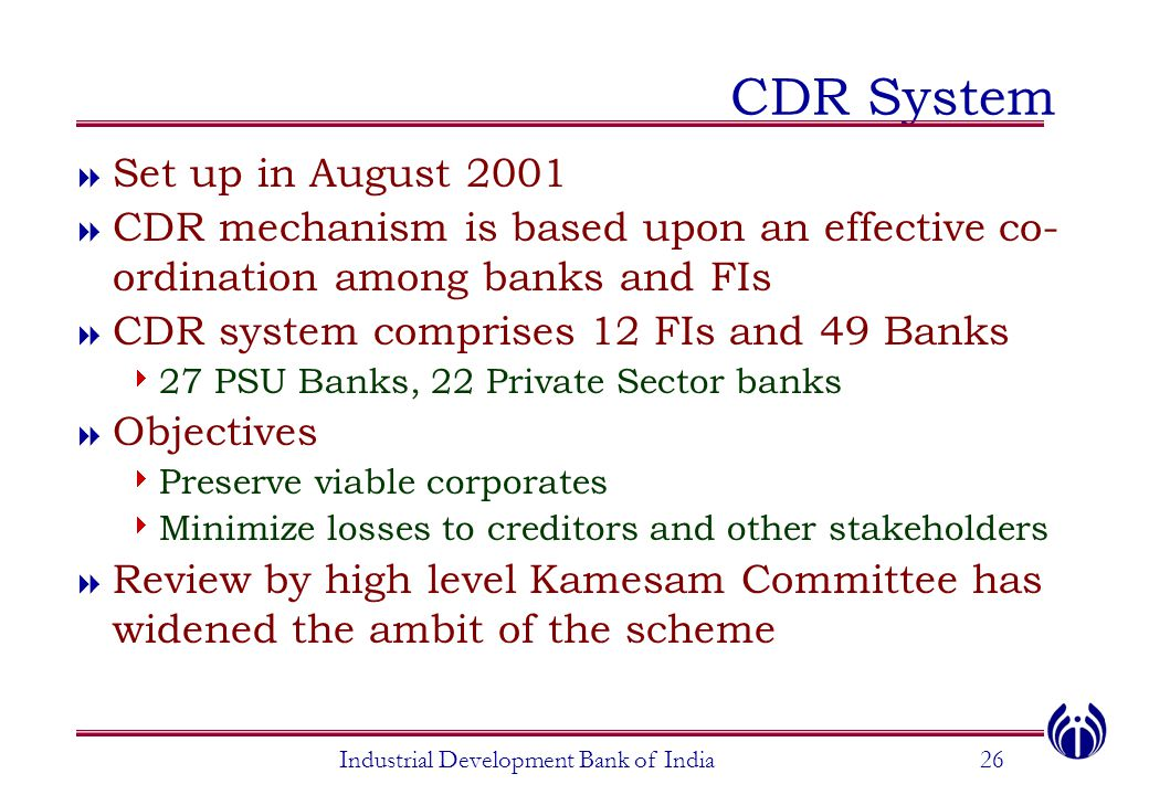 industrial banks in india