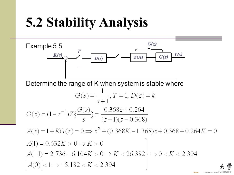 5.2 Stability Analysis Example 5.5