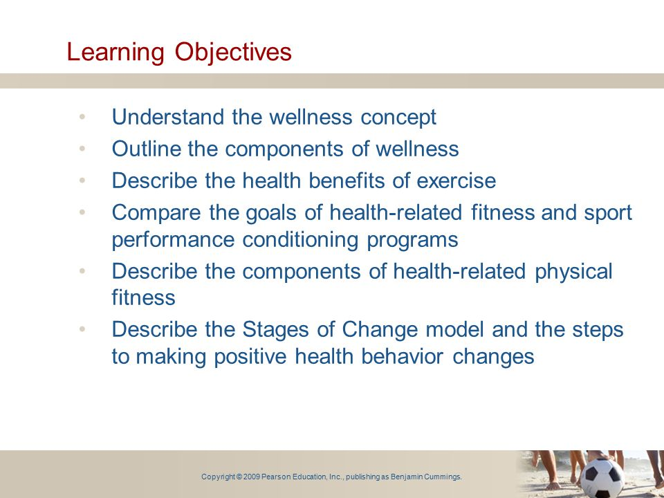 objectives of physical exercise