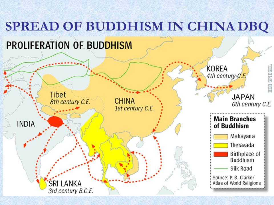 spread of buddhism
