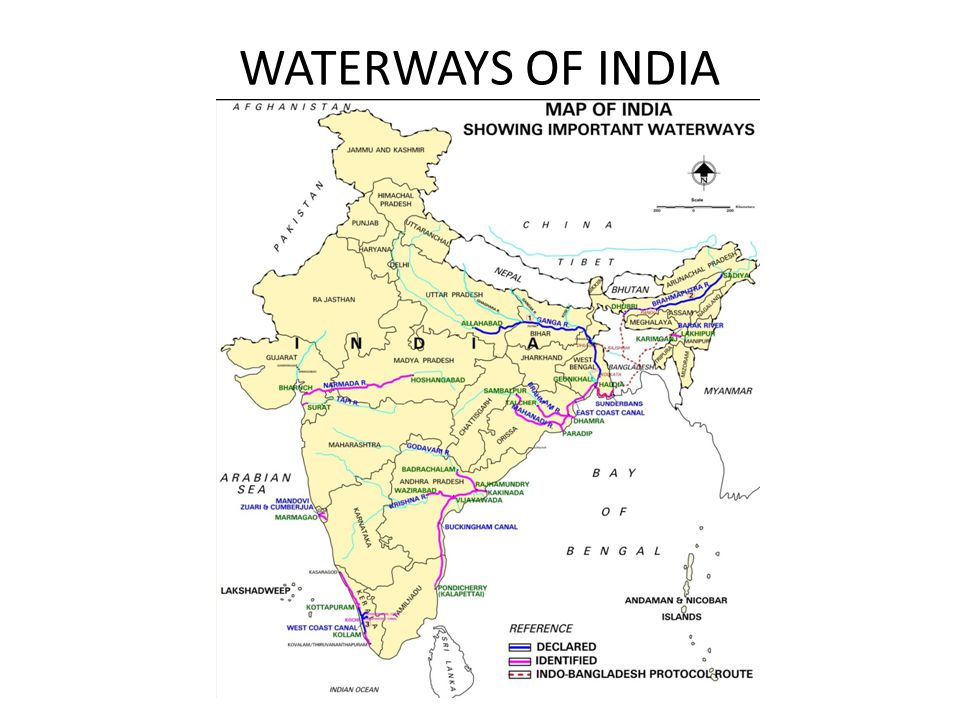 INLAND WATERWAYS TRANSPORTATION IN INDIA WITH REFERENCE TO