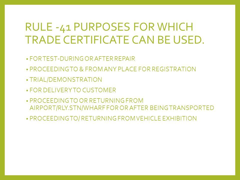 Presentation On Motor Trade Policies Ppt Video Online Download