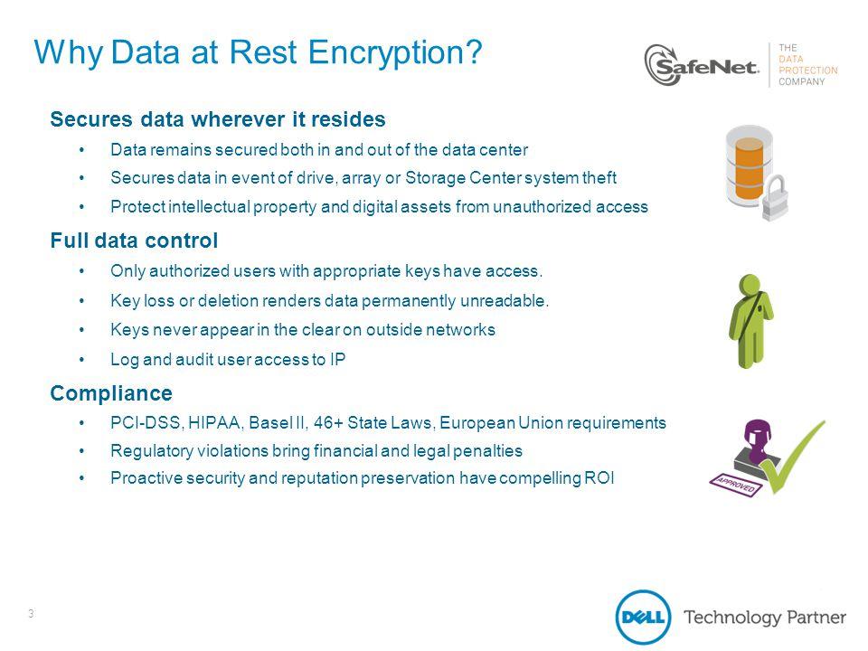Dell Compellent and SafeNet KeySecure - ppt video online