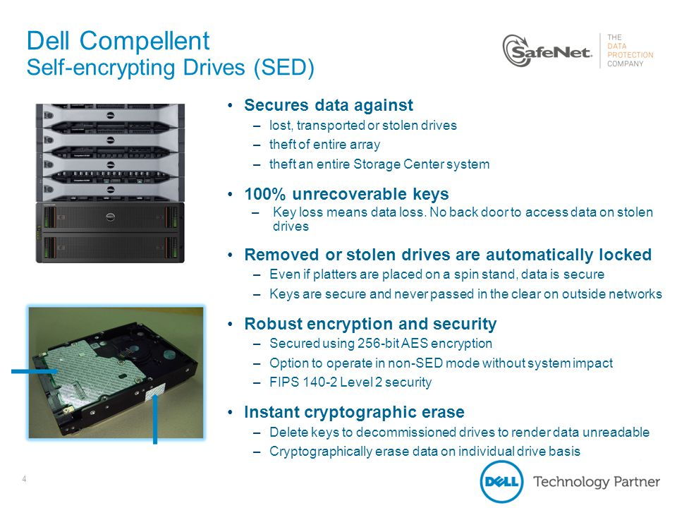 Dell Compellent and SafeNet KeySecure - ppt video online