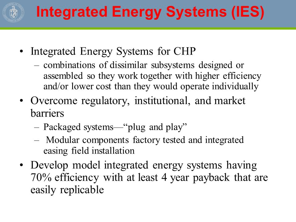 Integrated Energy Systems (IES)