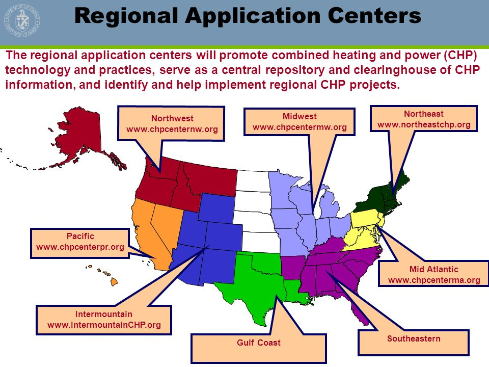 Regional Application Centers
