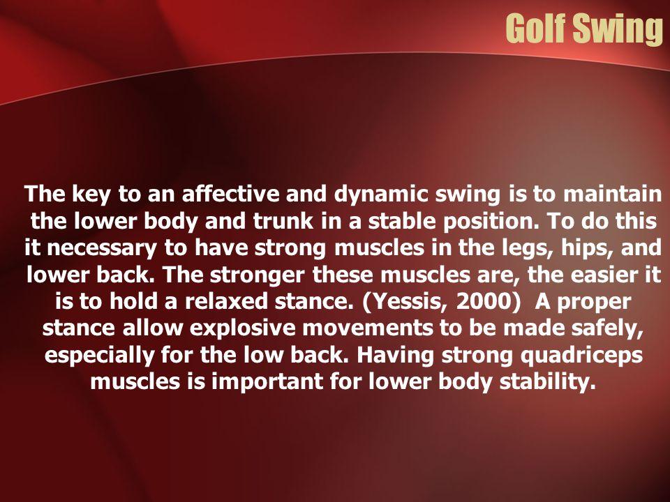 Biomechanics of Golf Swing - ppt video online download