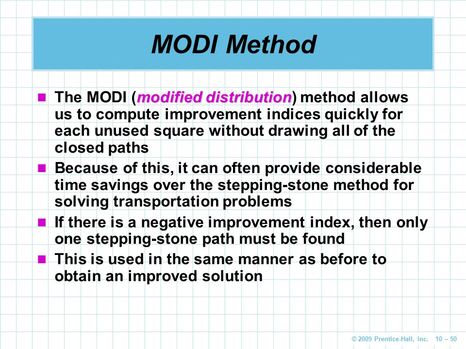 Transportation and Assignment Models - ppt download