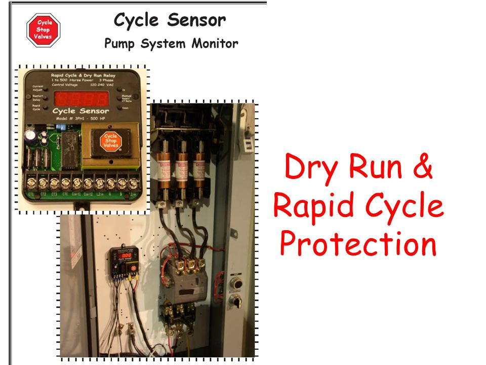 Dry Run & Rapid Cycle Protection