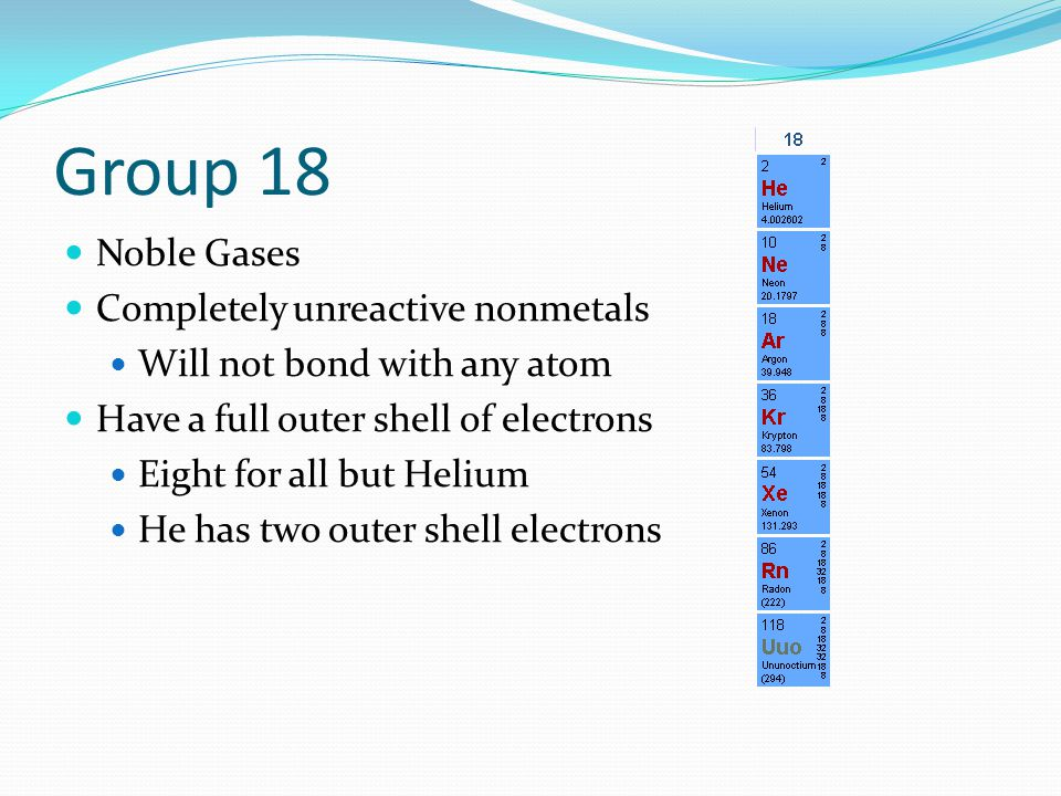 Why Are Nonmetals Gases At Room Temperature
