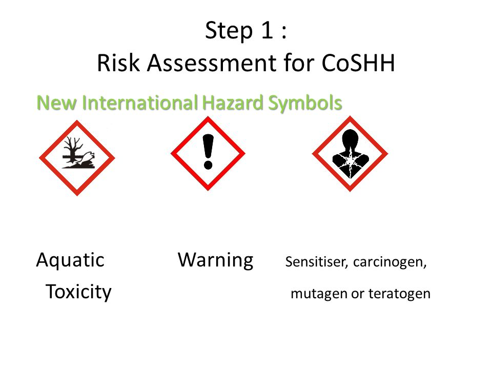 An Introduction To Coshh Ppt Video Online Download