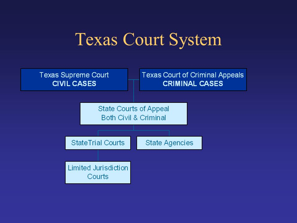Texas Court System