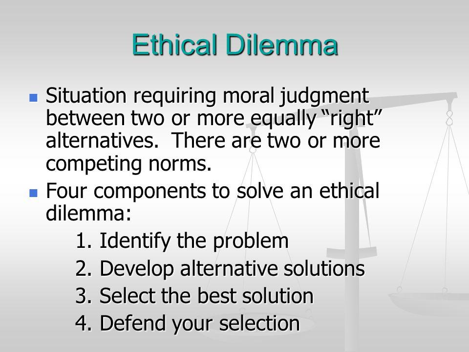 medical ethical dilemma scenarios