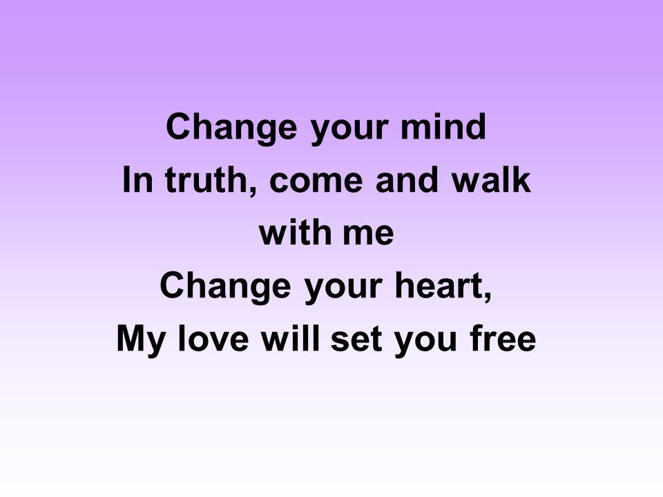 set your love free
