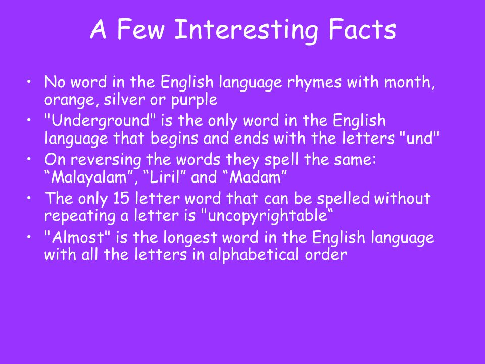 letter words a world of language ppt 15