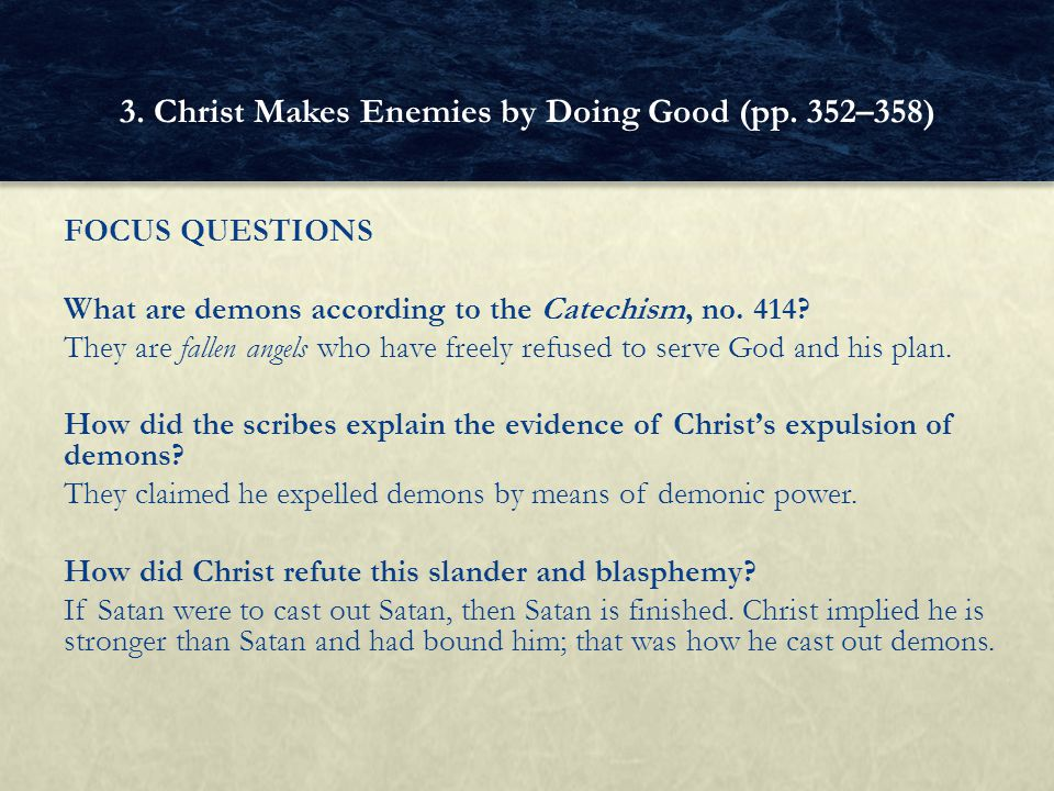 Chapter 19: What Jesus Did - ppt video online download
