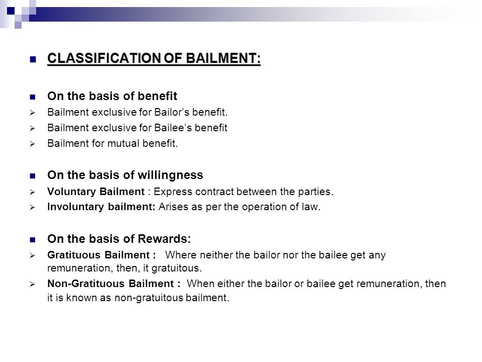 Bailment And Pledge Ppt Video Online Download