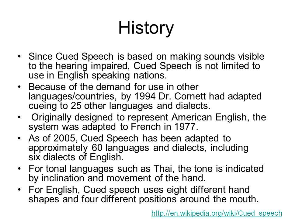 speech on english speaking