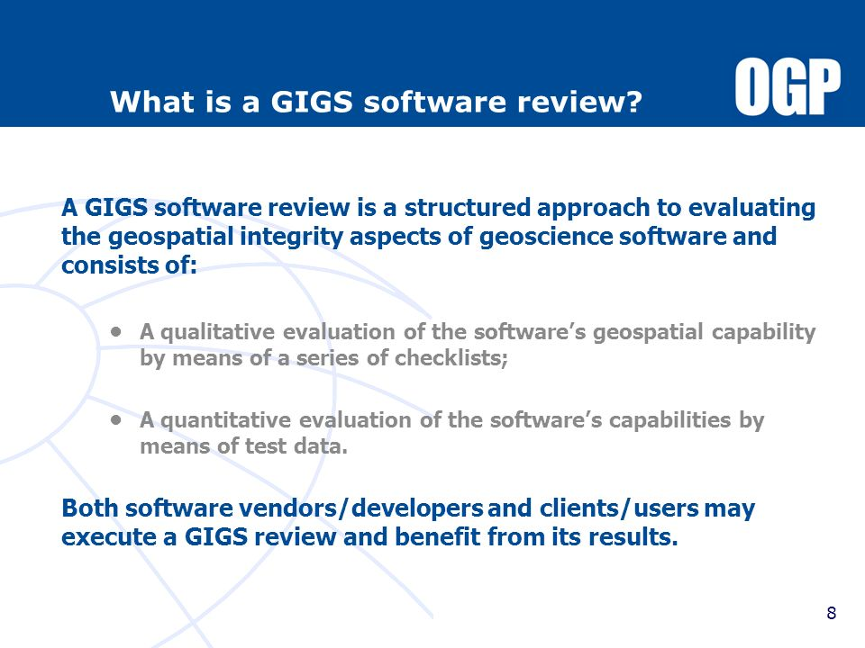 What is a GIGS software review