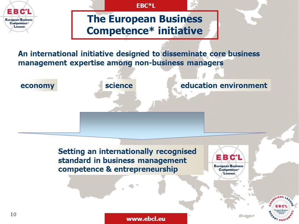 The European Business Competence* initiative