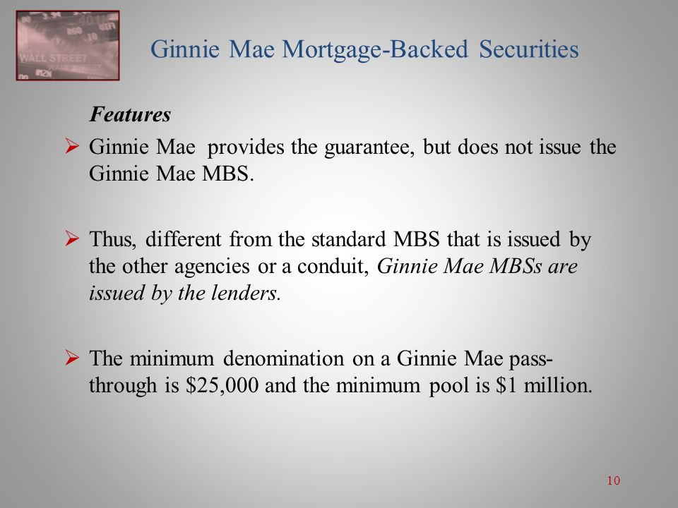 an overview of residential mortgage backed security Guide to mortgage-backed securities november 3, 2004 citigroup global markets 5 acknowledgments this is the third edition of the guide to mortgage -backed securities, originally published in.