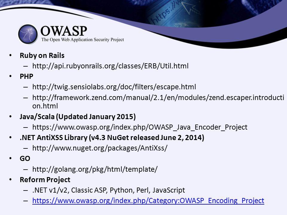 OWASP Top Ten Proactive Defenses - ppt download