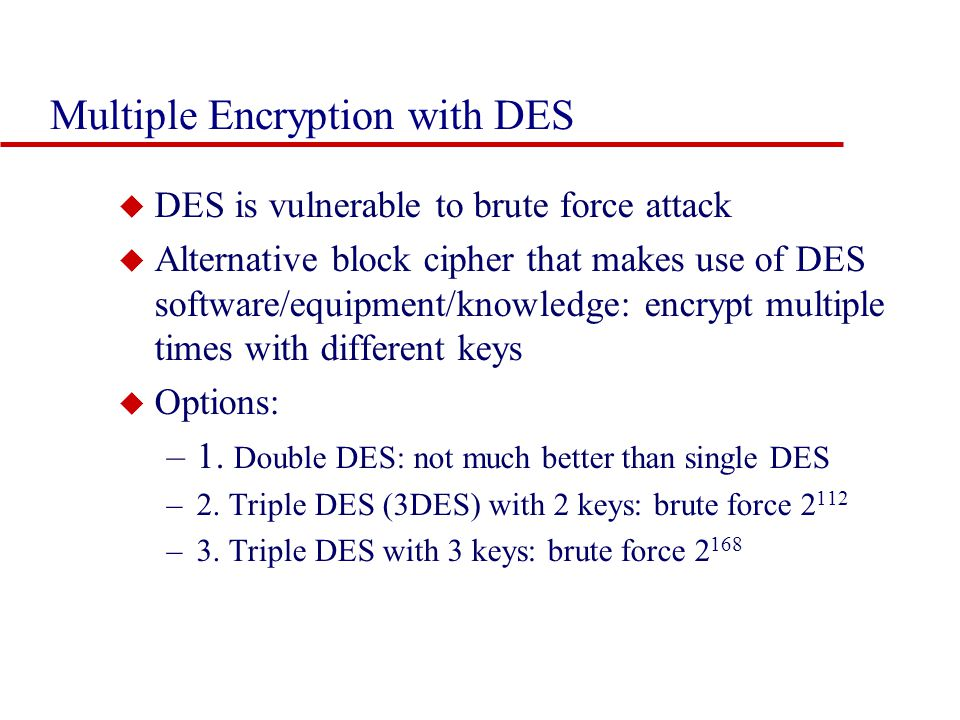 Cryptography and Network Security Chapter 3 - ppt download