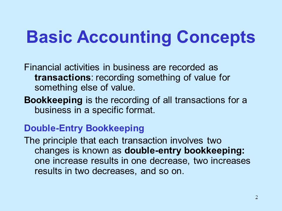 account concepts The fasb concepts statements are intended to serve the public interest by setting the objectives, qualitative characteristics, and other concepts that guide selection.