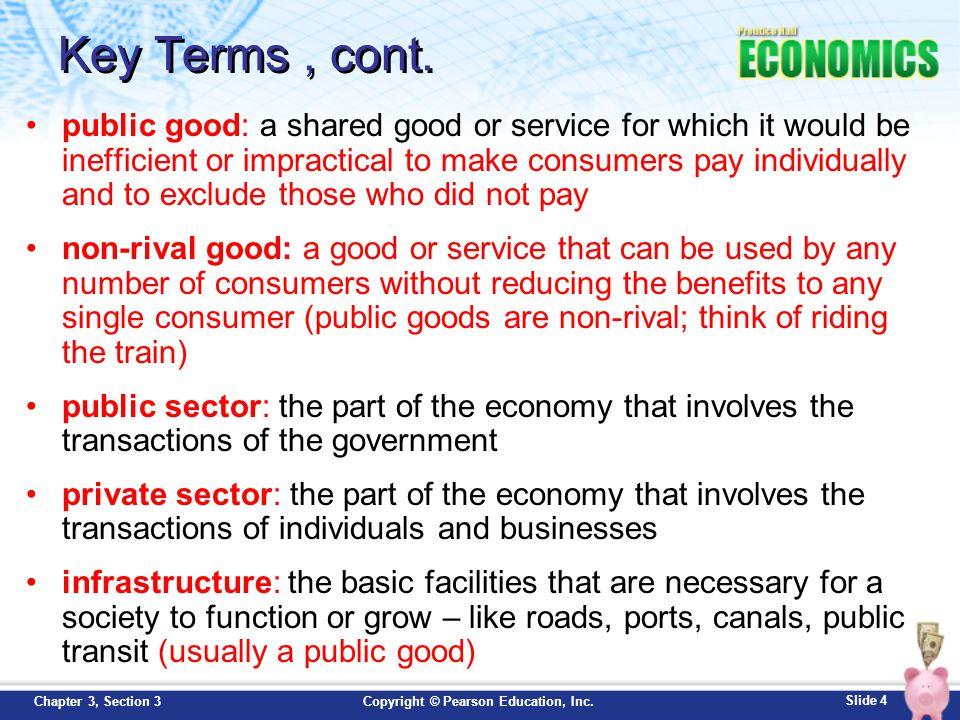 benefits of a good economy
