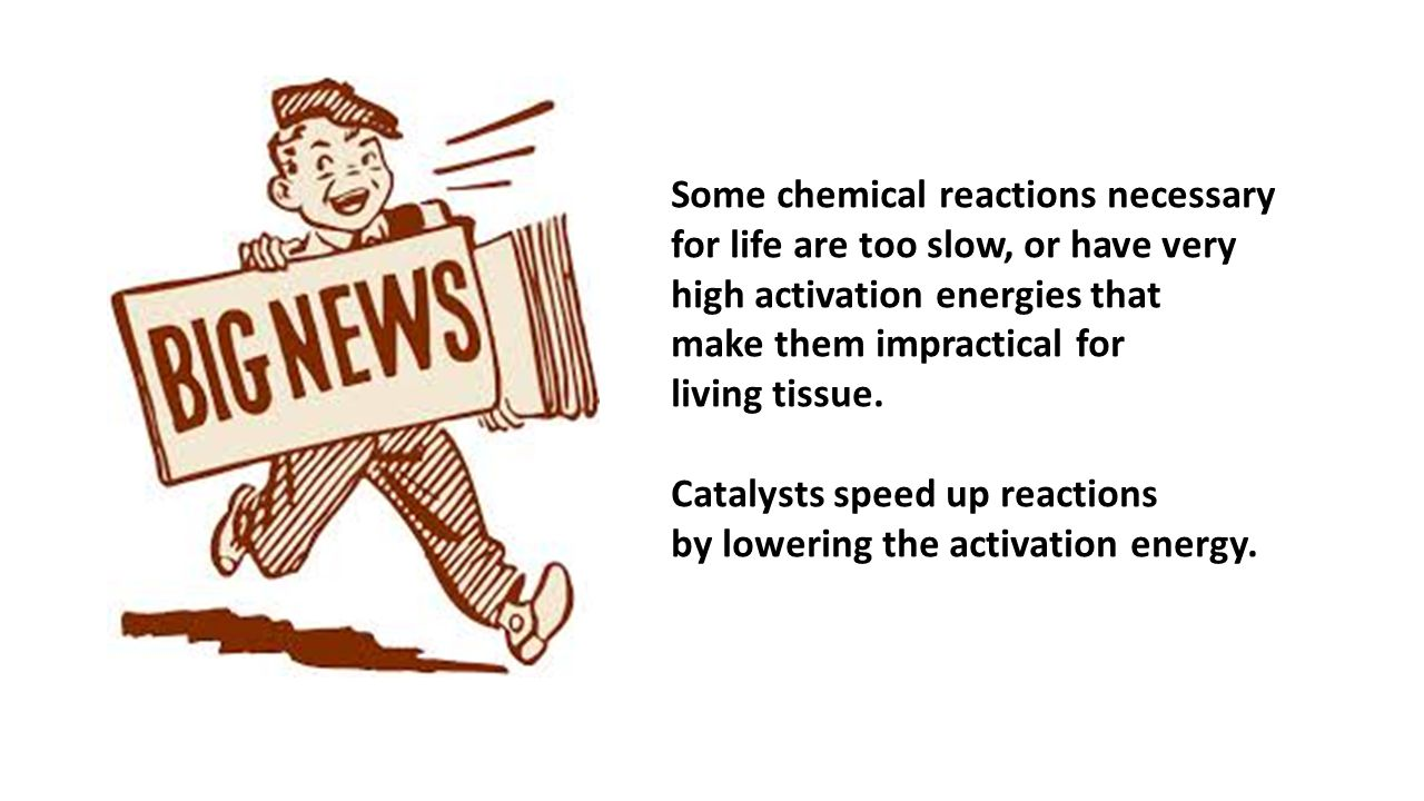 Some chemical reactions necessary