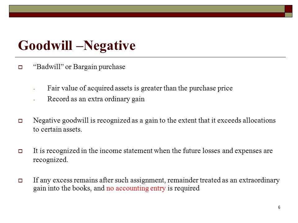 inherent goodwill definition