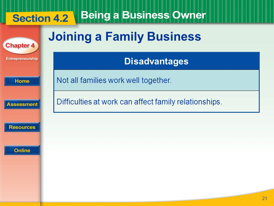 Joining a Family Business