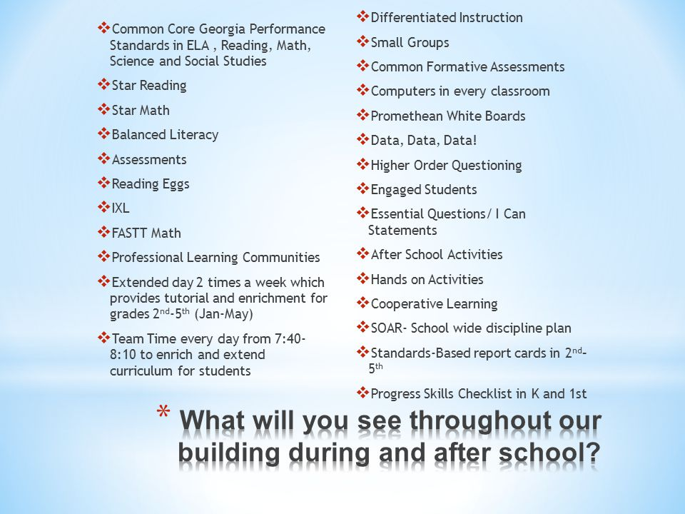 Heards Ferry Elementary State Of The School Ppt Download