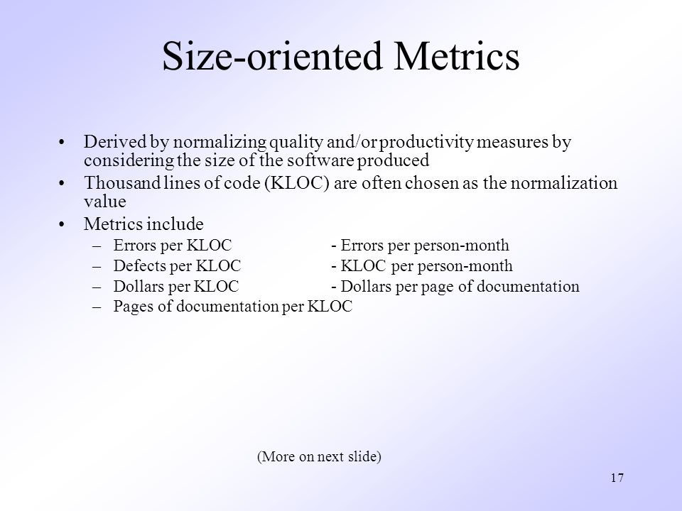 Chapter 22 Process And Project Metrics Ppt Video Online Download