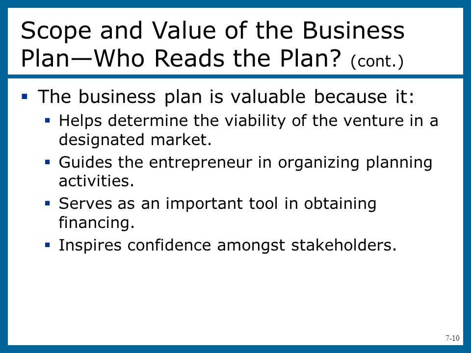 business plan guides