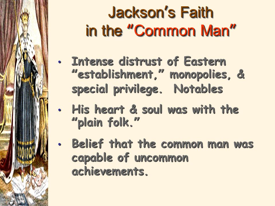 andrew jackson achievements