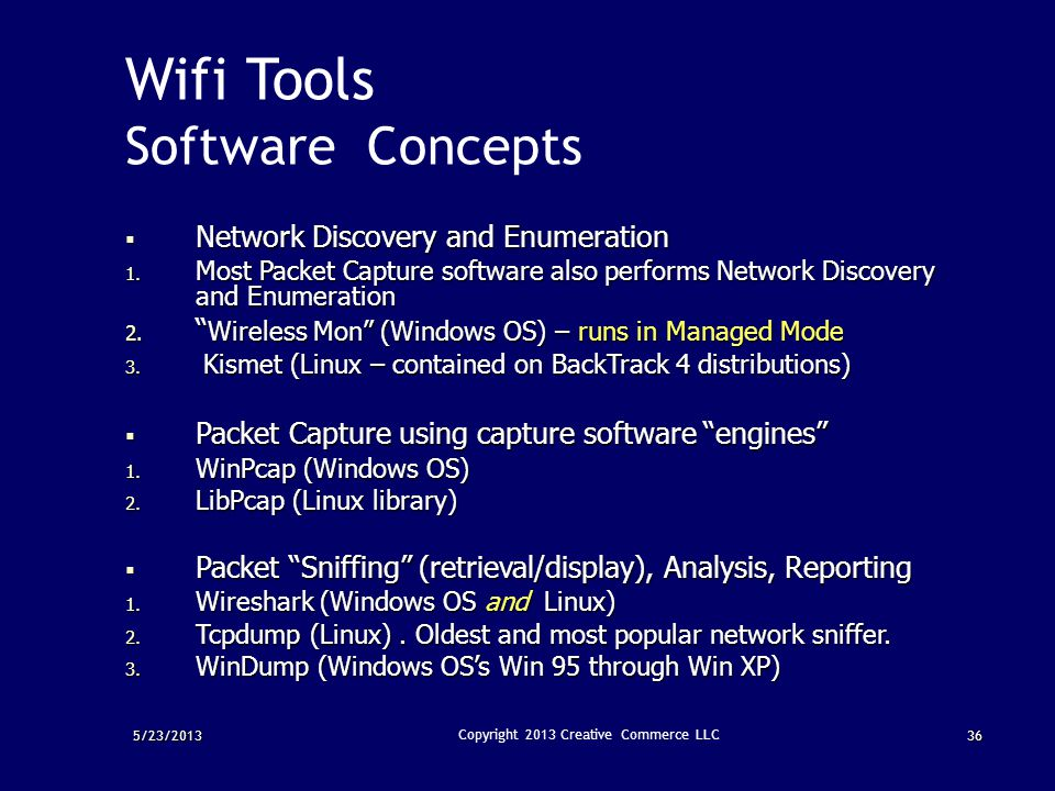 Wifi Sniffing Linux