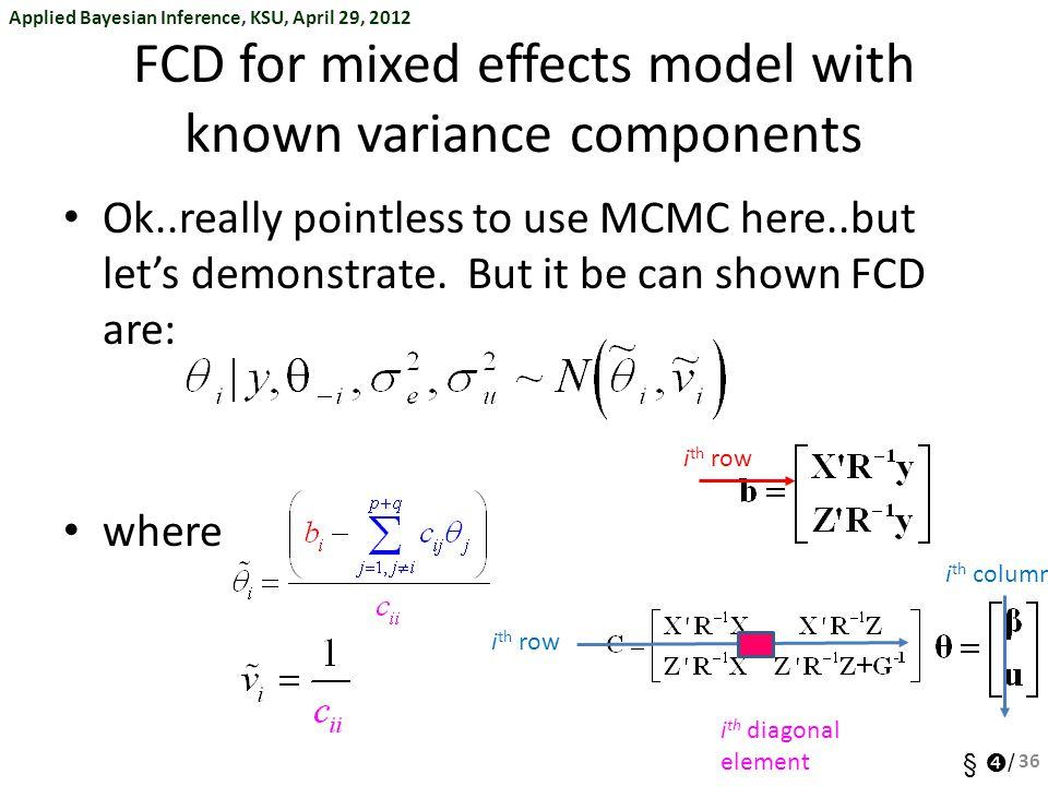 ➃ The Bayesian Revolution: Markov Chain Monte Carlo (MCMC) - ppt